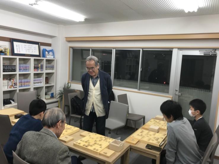 髙橋九段金曜ナイタースクール始まりました