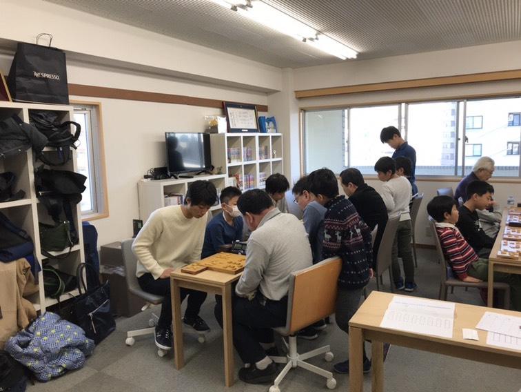 新春将棋大会 中級、有段の結果